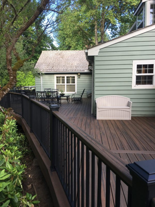 Beautiful Trex deck!