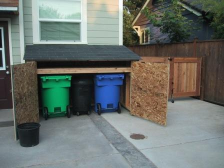 Recycling Bin Shed Deck Masters Llc