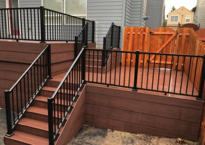 Moroccan red Trex deck