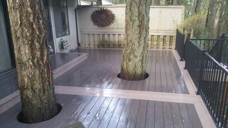 Azek PVC deck