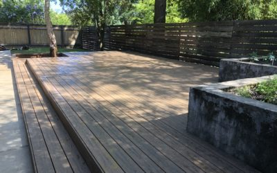 Trex Toasted Sand Enhance deck