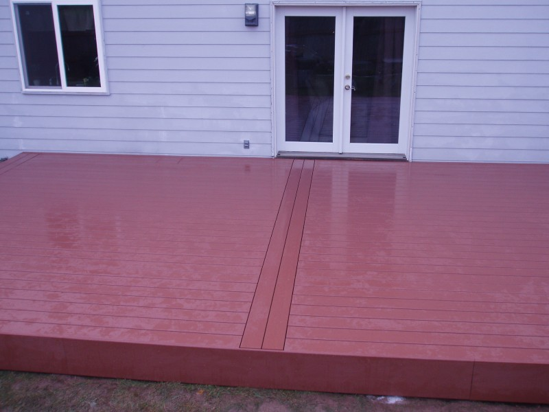 Pure PVC Decking