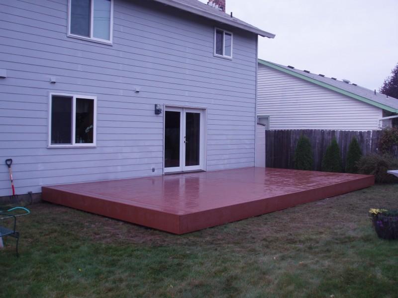 Beaverton Timbertech deck