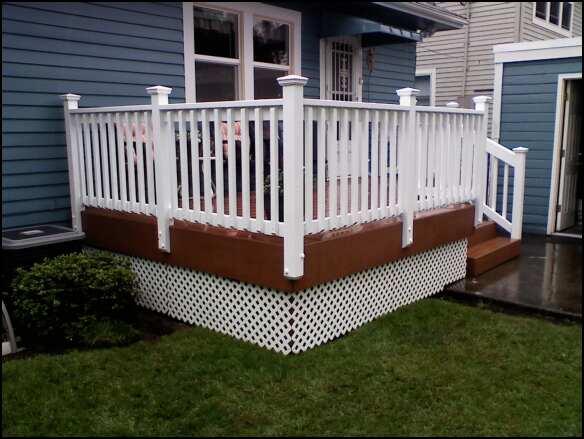 Corner View Deck Masters Llc