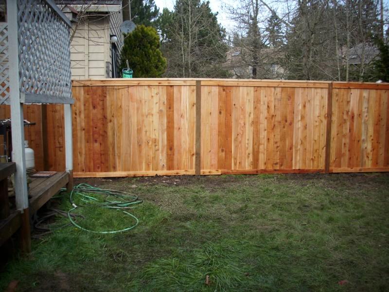 Standard Picture Frame Fence Deck Masters Llc