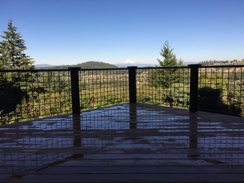 Cedar deck re-skin