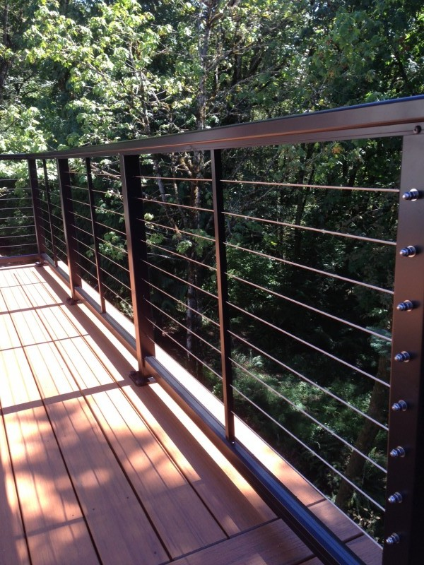 Stainless Steel Cable Railing Deck Masters Llc