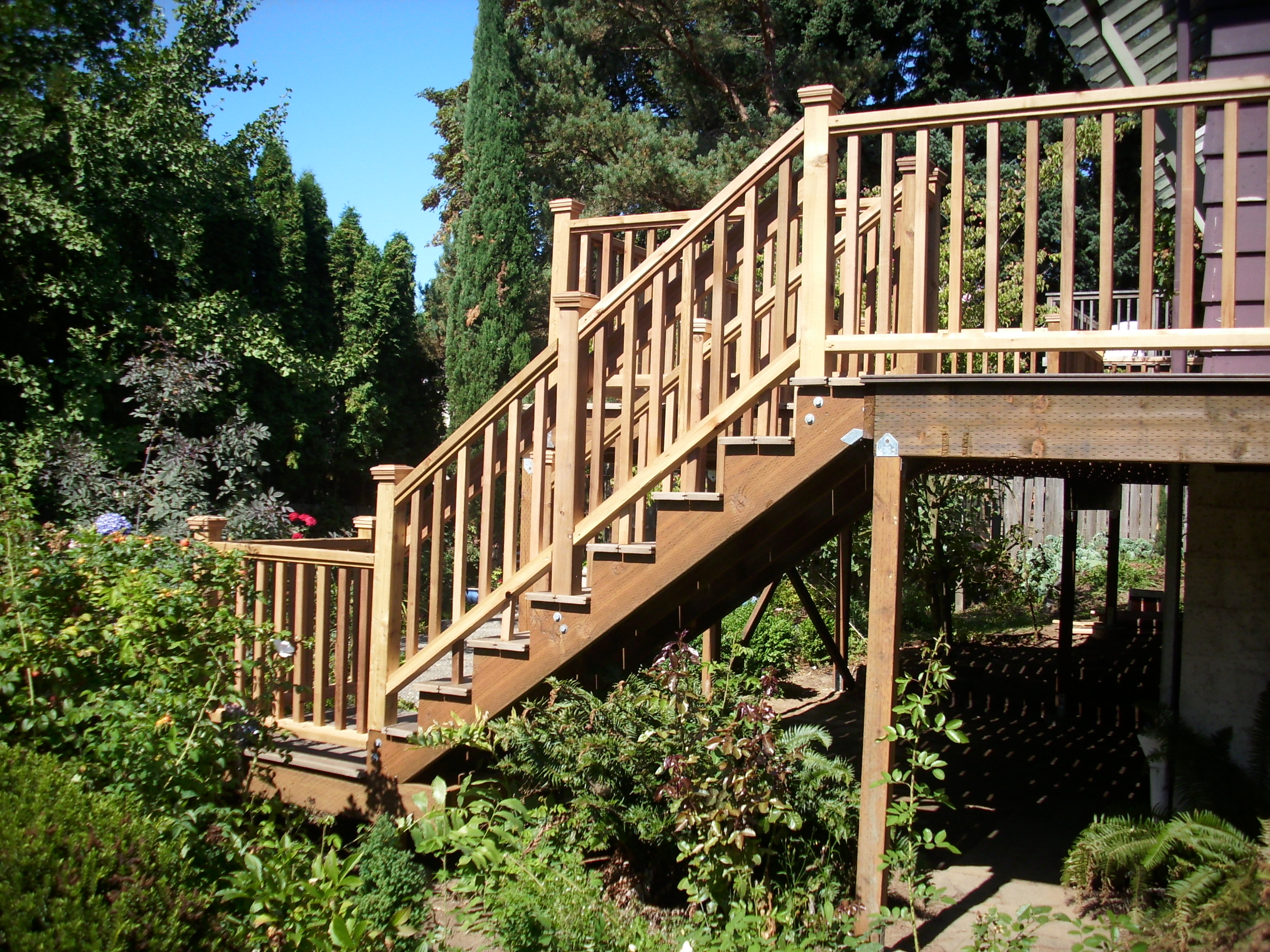 Stairs From Side Deck Masters Llc