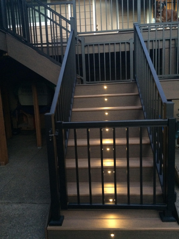 Composite Deck With Aluminum Railing Deck Masters Llc